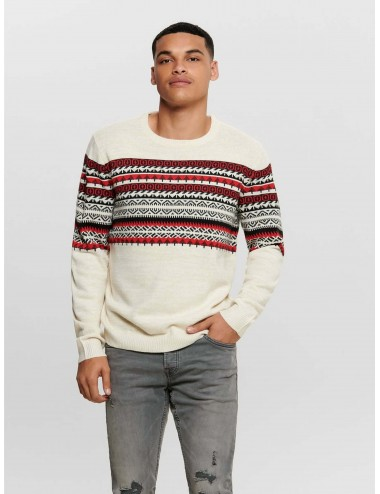 ONSRAMMER 7 CHEST JAQ KNIT
