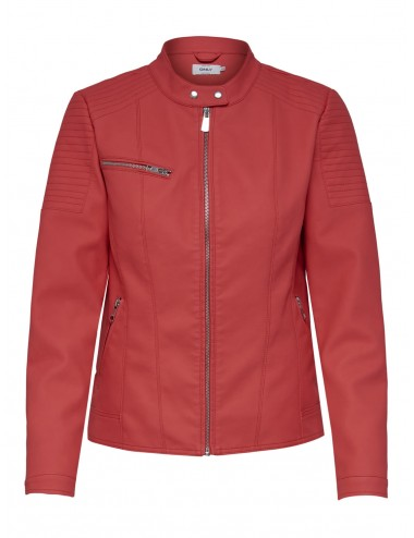 CAZADORA onlMELANIE BIKER FAUX LEATHER JACKET