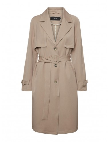 GABARDINA vmDONNAEXPORT LONG JACKET SS20