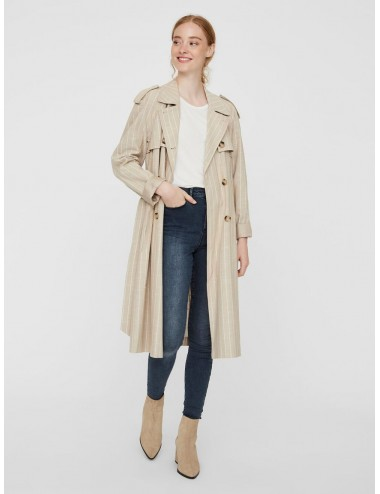 GABARDINA vmPOPPYKENZIE LONG TRENCH COAT SS20