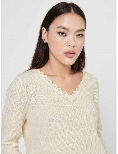 JERSEY onlJENNIE LIFE L/S LACE PULLOVER AW20