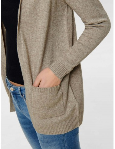 CHAQUETA onlLESLY L/S OPEN CARDIGAN KNIT NOOS