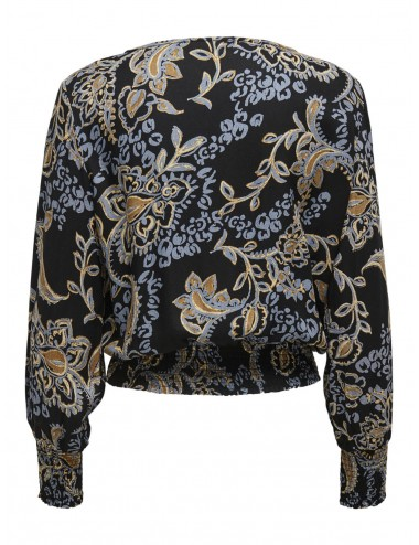 TOP onlCHATTY L/S SMOCK TOP AW20
