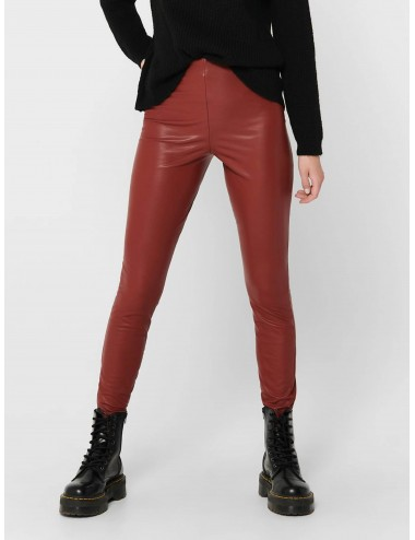 PANTALÓN onlVIGGA FAUX LEATHER POLI PIEL LEGGINGS AW20
