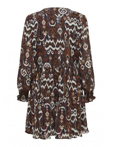 VESTIDO onlELOISE L/S SHORT DRESS AW20