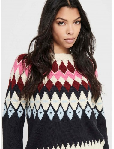 JERSEY onlARIELLE L/S PULLOVER PUNTO AW20