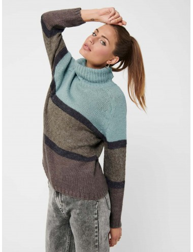 JERSEY jdySANDIS ROLL NECK PULLOVER KNT COMFY AW20