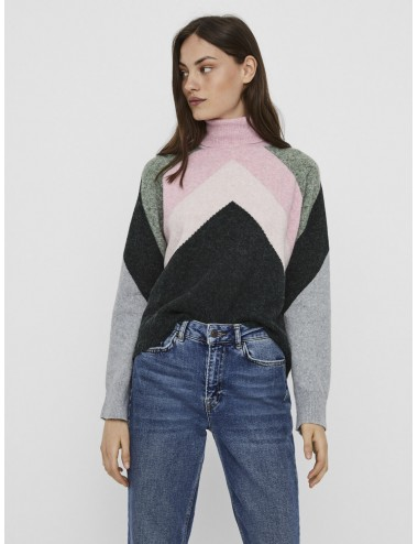 JERSEY vmDOFFY ROLLNECK BLOUSE PUNTO COMFY AW20