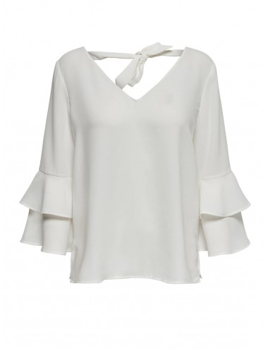 TOP onlCELINA L/S FRILL VOLANTES AW20