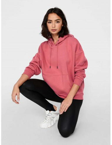 SUDADERA onlMELINA L/S HOODIE SWT COMFY CAPUCHA SS21
