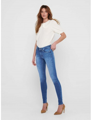 JEANS onlBLUSH LIFE MID SKINNY REA12187 NOOS SS21