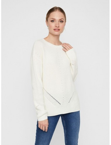 JERSEY pcKARIE LS O-NECK KNIT PUNTO NOOS SS21