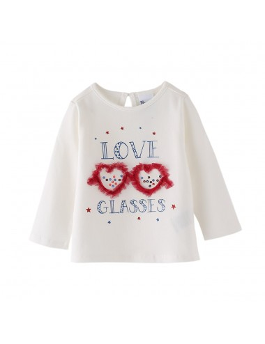 CAMISETA LOVE GLASSES Newness NIÑA SS21