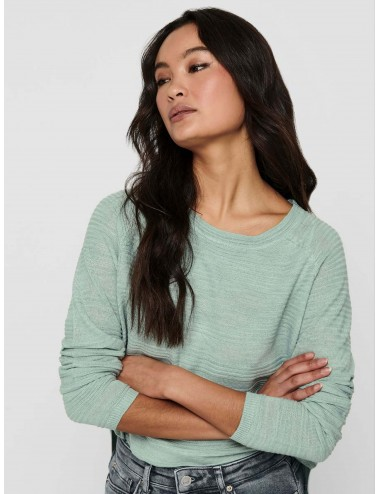 JERSEY onlCAVIAR L/S PULLOVER KNT PUNTO NOOS SS21