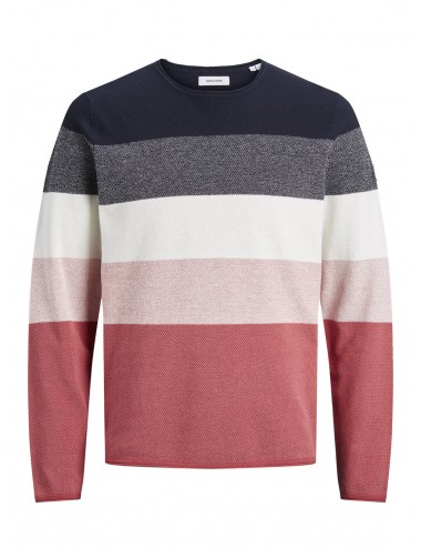 JERSEY jjLINCOLN KNIT RAYAS CREW NECK SS21