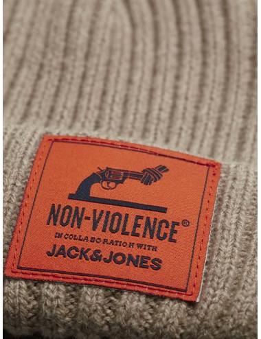 GORRO jacNON-VIOLENCE BEANIE PUNTO SS20
