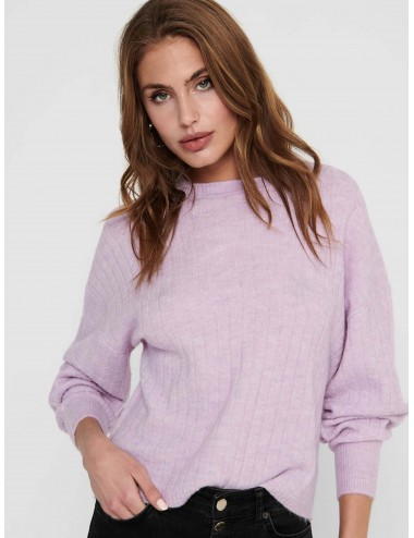 JERSEY onlCORINNE L/S LOOSE PULLOVER KNT PUNTO SS21