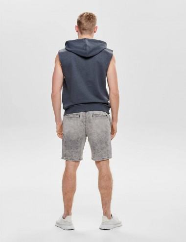 SHORTS CHINOS GREY