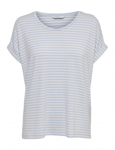 TOP onlMOSTER NEW AOP S/S O-NECK TOP SS21