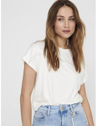 TOP onlSALLY S/S EMBELLISMENT BOX TOP BRILLO SS21