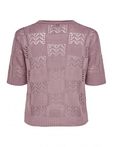 TOP jdySOFIA S/S STRUCTURE PULLOVER KNT PUNTO SS21