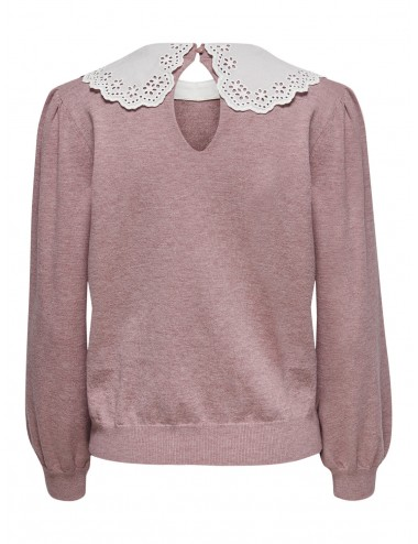 JERSEY jdyKYLIE L/S WIDE COLLAR PULLOVER KNT SS21