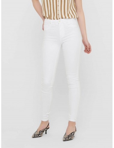 JEANS onlROYAL LIFE HW SK JEANS WHITE NOOS SS21
