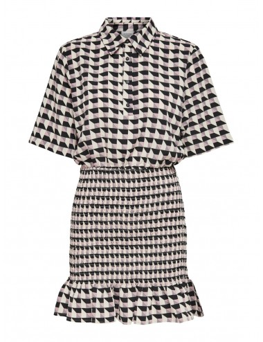 VESTIDO jdyRINA 2/4 SMOCK SHIRT DRESS WVN SS21