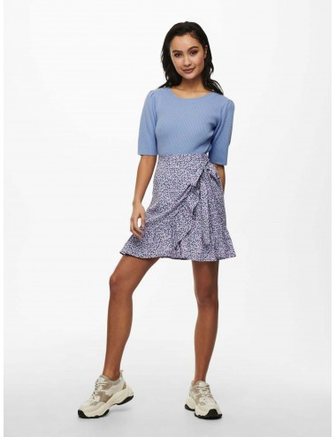 JERSEY jdyLINA S/S PUFF PULLOVER KNT PUNTO SS21