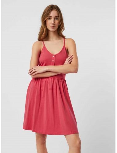 VESTIDO vmADAREBECCA SL SHORT DRESS JRS GA SPE AW21