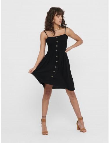 VESTIDO onlANNIKA S/L SMOCK DRESS WVN NOOS AW21