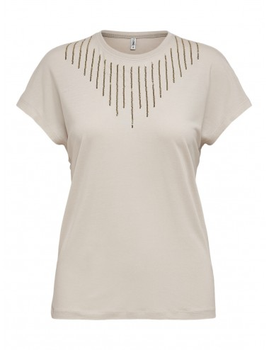 TOP onlBRIELLE LIFE S/S BLING BOX TOP JRS AW21