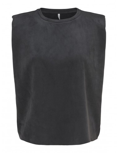 TOP onlOLIVIA FAUX SUEDE SH PADS TOP OTW AW21