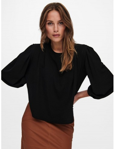 TOP onlRICKY 3/4 SHOULDERPAD TOP WVN AW21