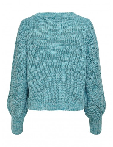 JERSEY jdyJUSTINA L/S STRUCTURE PULLOVER KNT AW21