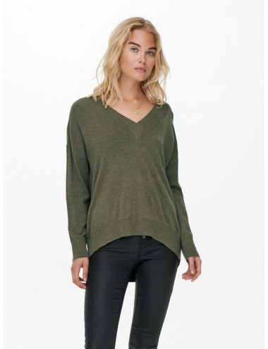 JERSEY onlCOZY L/S V-NECK PULLOVER KNT AW21